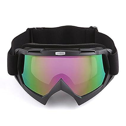Motocross MX BMX ATV Dirt Bike Ski Snowboard MX Goggles, Arrow Matt Black