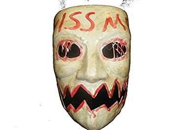 THE PURGE 3 - ELECTION YEAR - KISS ME MOVIE MASK!!: Amazon.es ...