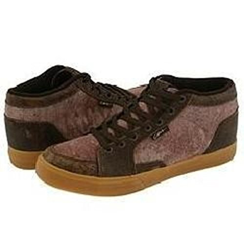 Circa Pusher Skate Shoes chocolate / tie-dye / Crepe, shoe size:36.5