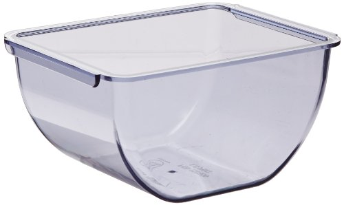 San Jamar BD102 1.5pt Dome Standard Chillable Tray (Pack of 6) by San Jamar (Image #1)