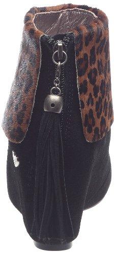 Lollipops Marrón para de Leopard Botas cuero mujer gxqwgv1Tr