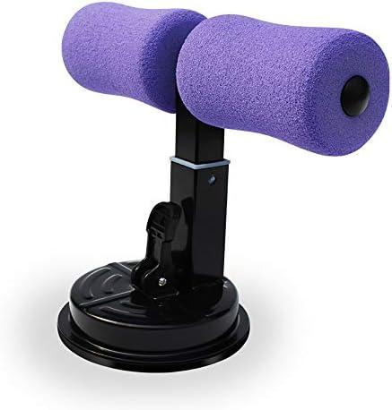 多機能自己吸引シットアップバー吸盤腹部シットアップバー、シットアップバー、3速ギア調整、フォーム、シリコン、減量のための薄い太もも、腹筋トレーニング