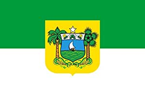 magFlags XXXS Flag Rio Grande do Norte | landscape flag | 0.135m² | 1.5sqft | 30x45cm | 1x1.5foot - 100% Made in Germany - long lasting outdoor flag