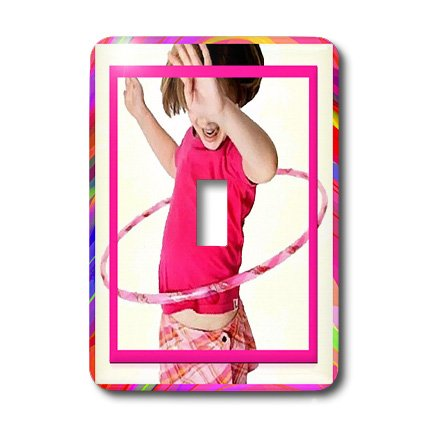 3d Rose 3dRose LLC lsp_18337_1 Hula Hoop Girl - Single To...