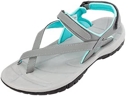 Women's Northside Corinne Sandals Gray/Aqua