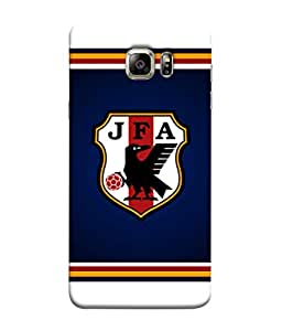 ColorKing Football Japan 09 Black shell case cover for Samsung S6 Edge Plus