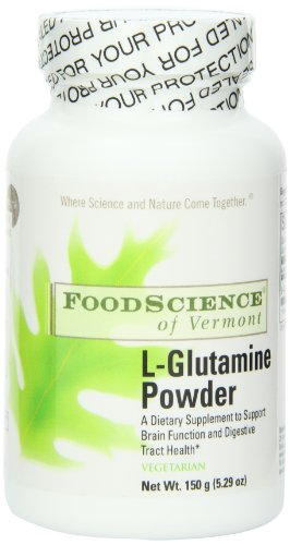 Food Science of Vermont L-Glutamine Powder 5000 Mg Serving, 150 Gram