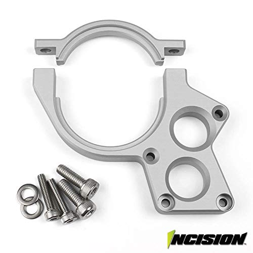 VANQUISH INCISION YETI/RR10 MOTOR PLATE CLEAR ANODIZED AXIAL IRC00153