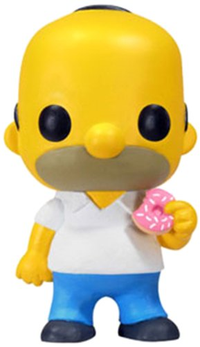 Funko - Figurine Simpsons Homer Pop 10 cm