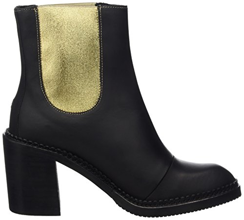 Boots 1a K1385assy Hilfiger Chelsea Damen Denim 1w4xqv8