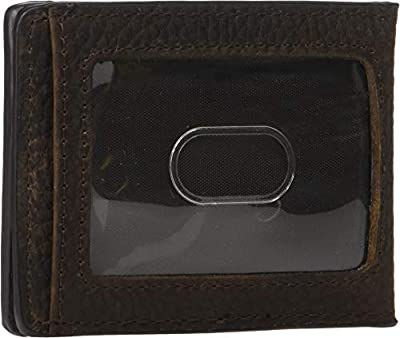 Ariat Men's Ariat Shield Bottle Opener Money Clip Bifold Wallet