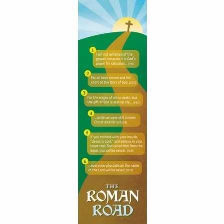 image about Romans Road Bookmark Printable known as : 1 X Bookmark - Small children Roman Street (Pk/25) : Business office