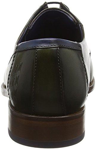 Daniel Hechter 811175011100, Zapatos de Cordones Derby para Hombre Verde - Grün (d,Grün 7100)