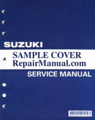 99011-28H51-03A 2009 Suzuki RM-Z450K9 Motorcycle Owners Service Manual ebook