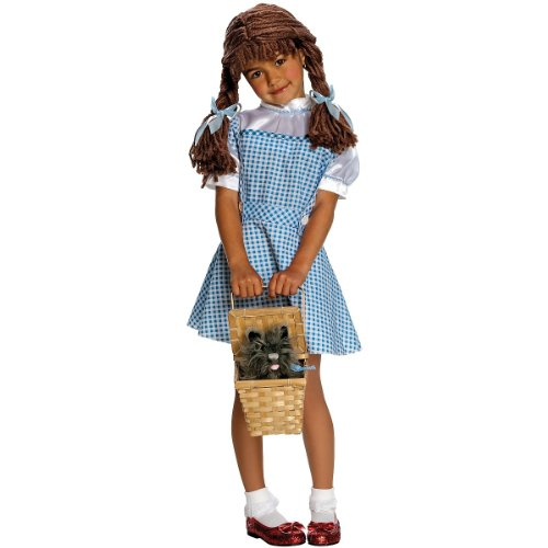 [Dorothy Yarn Baby Costume: Toddler's Size 2T-4T] (Dorothy Kid Costumes)