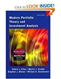 img - for Modern Portfolio Theory and Investment Analysis (The Wiley series in finance) book / textbook / text book