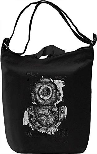 Diver club Borsa Giornaliera Canvas Canvas Day Bag| 100% Premium Cotton Canvas| DTG Printing|