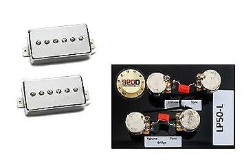 amazon com seymour duncan sph 90 phat cat guitar pickup set seymour duncan sph 90 phat cat guitar pickup set nickel lp50 l wiring
