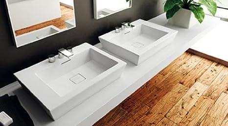 Vasca Da Bagno Teuco Paper Prezzi : Teuco paper lavabo da appoggio o sospeso cm 60 art. u3: amazon.it