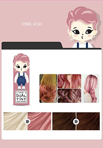 Masil Dual Tint Hair Color Treatment Dye 50ml 169 Oz Pink Ash