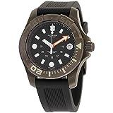 Victorinox Dive Master 500 Black Dial Silicone Strap Men's Watch 2415551