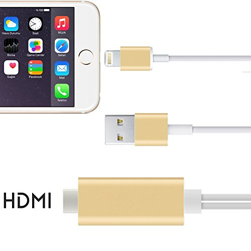 FST High-Speed HDMI Cable, 64Ft MHL to HDMI - Control De Juegos Para Iphone