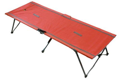 Ledge Sports Quick Set Cot (84 X 32 - 18-Inch Height, Moab Orange)