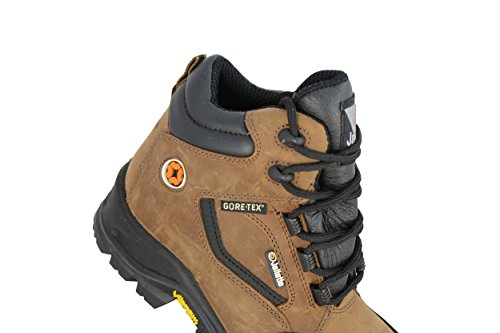 marrón de De CI nbsp;HRO Hi lavoro S3 Color Guantes Zapatos trabajo jallatte WR Marrón Src Trabajo wq78ZBtn