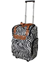"""Dejuno Lightweight 20"""" Easy Travel Collection Rolling Carry-On Luggage"""