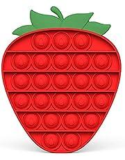 Strawberry Push Pop Bubble Fidget Toy Sensory Stress Relief Toy
