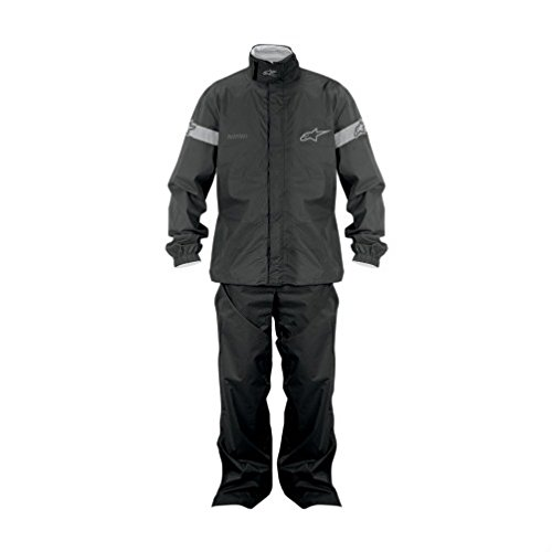 Alpinestars Quick Seal Out Motorcycle Rainsuit - Jacket and Pants 100% Water Proof (X-Large 2851-0378)