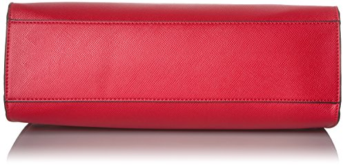 GUESS Huntley Saffiano Top Handle Flap, Cny Red by GUESS (Image #4)