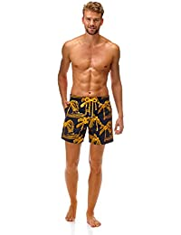 All Over Palm Trees Embroidery Mistral Swimwear - Men