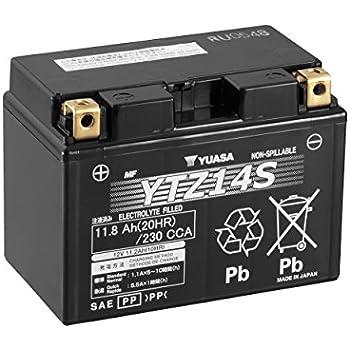 Amazon Yuasa YTZ14S Battery Automotive