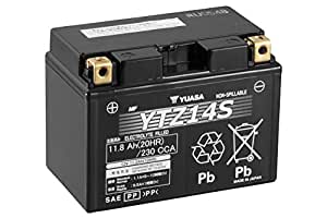Batería Yuasa YTZ14S - No requiere mantenimiento