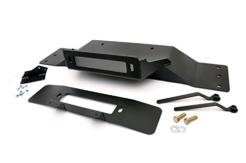 Winch Bumper Ford (Rough Country - 1010 - Hidden Winch Mounting Plate for Ford: 09-14 F150 4WD/2WD)