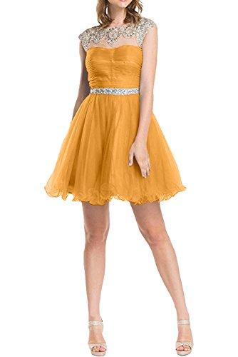 TOSKANA BRAUT - Vestido - trapecio - para mujer naranja