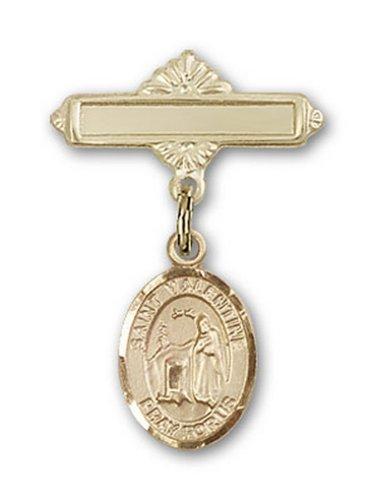 Icecarats Or Bijoux De Créateurs Rempli R. Valentine De Charme Rome Broche De Badge 1 X 5/8