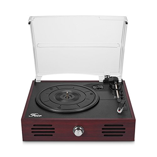 Buy portable record player with built in speakers