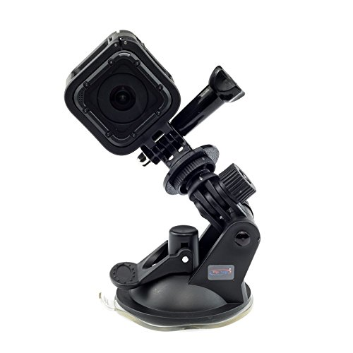 Suction Cup Car Mount Holder For GoPro HERO FUSION Session Akaso EK7000 Brave 5 4 Apeman EKEN H9R Fitfort Crosstour Campark ACT74 ACT76 Davola Dragon Touch Jeemak YI 4K Action Camera Go Pro HD