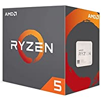 AMD Ryzen 5 1600X Desktop CPU - AM4/Hex Core/3.6GHz – 4GHZ turbo/ 16MB/95W