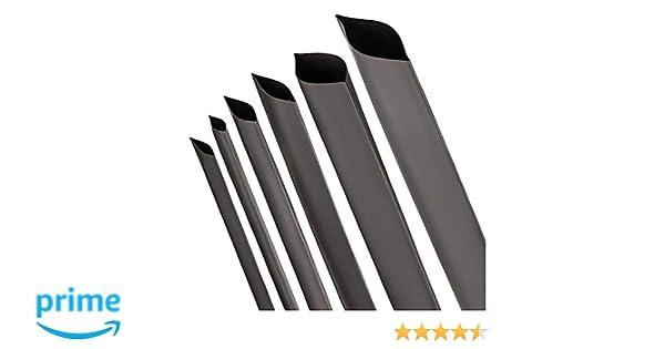 Tubo termorretr/áctil 3:1 con Adhesivo Negro varios Tama/ños y Longitudes de ISOLATECH