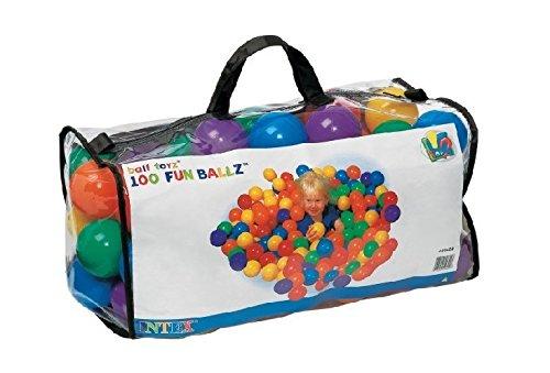 Intex–Coloured Balls, Diameter 6.5cm