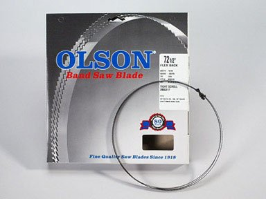 "Olson Saw FB08572 14Tpi Band Saw Blade 72-1/2"" x 1/8"""