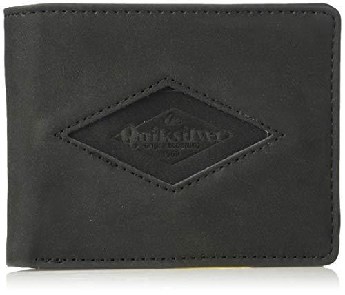 (Quiksilver Men's TENDERBOAT Wallet, black, M)