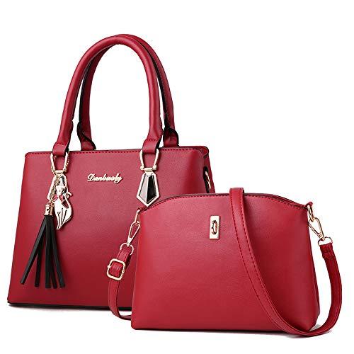 Niña Moda Cuero Viaje Cosméticos Damas Mujer Bolso De Madre Red Almacenamiento Bolsa Cena Para Maletín Hombro Flht nq4gIvpx