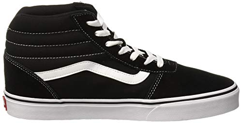Ward Hi Black Baskets canvas Noir Vans white Iju Femme Hautes canvas Suede suede TdCTF5qw