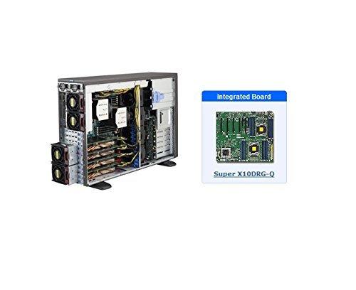 Supermicro SuperWorkstation 7048GR-TR Barebone System - 4U Tower - Intel C612 Express Chipset - Socket R3 (LGA2011-3) - 2 x Processor Support - Black - 1 TB DDR4 SDRAM DDR4-2133/PC4-17000 Maximum RAM Support - Serial ATA/600 RAID Supported Controller - AS