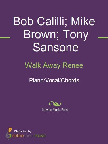 Walk Away Renee Kindle Edition By Bob Calilli Mike Brown The