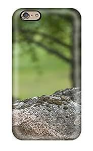 Iphone 4/4S Premium Tpu Case Cover Rock Earth Nature Rock Protective Case